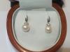 Orecchini in oro 18kt con perle e diamanti